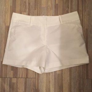 Ann Taylor white shorts size 12